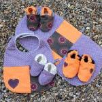 Deluxe Baby Set - Bib, Bur..