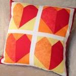 Red Hearts Cushion
