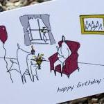 A6 Birthday chair card (ano..