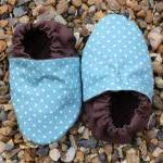 Baby Booties, Aqua Mini Sp..