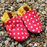 Baby booties, Red spots and..