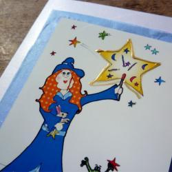 Lilly&#039;s stars card (Bessie Friends Range)